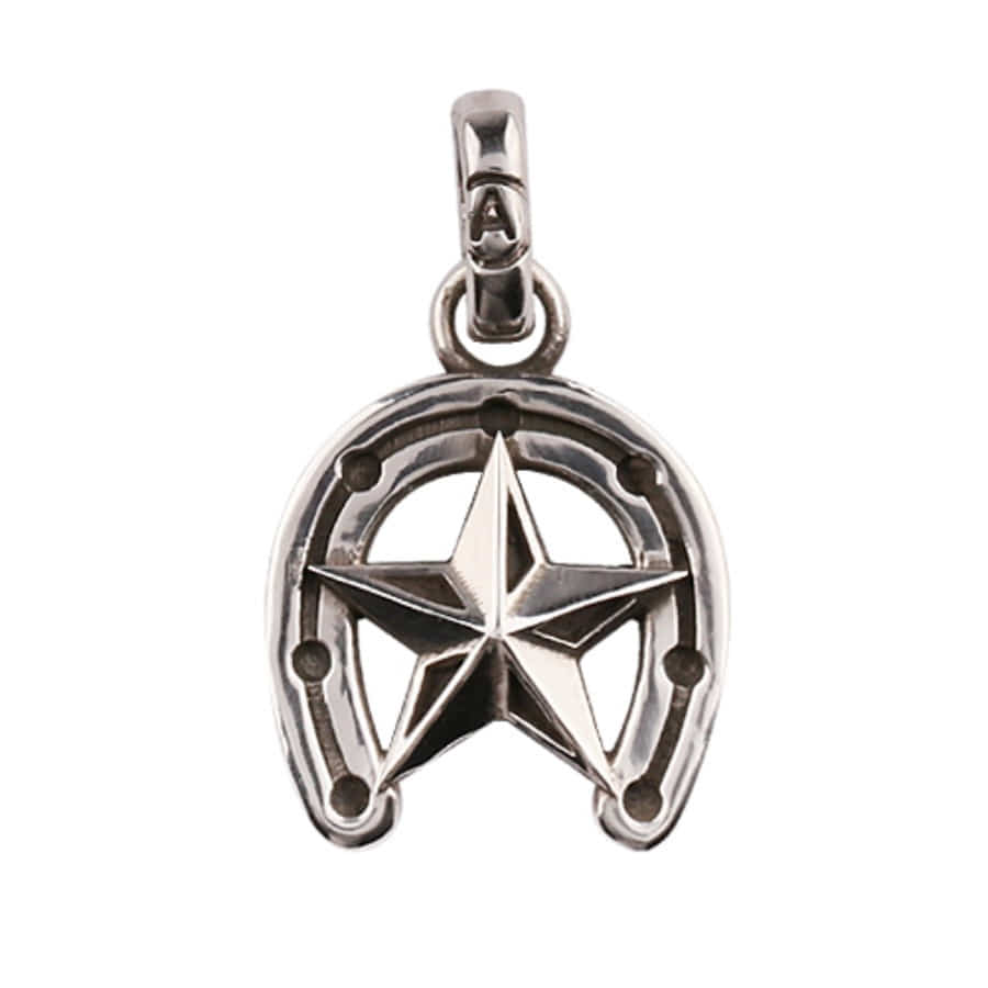 Star Horseshoe Pendant