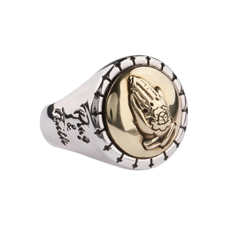 Pray & Faith Ring