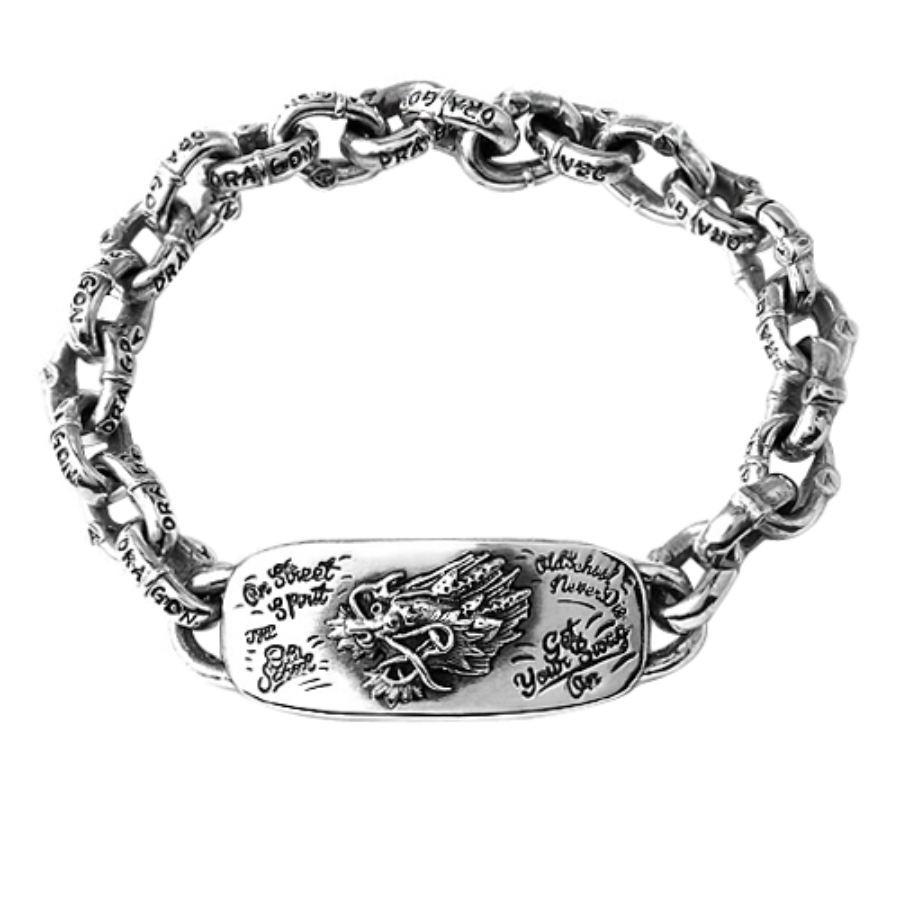 Old school Dragon Bracelet