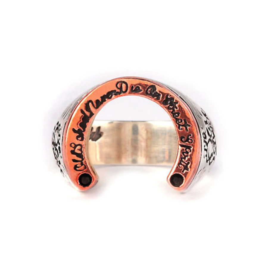 On Street Spirit Horseshoe Ring