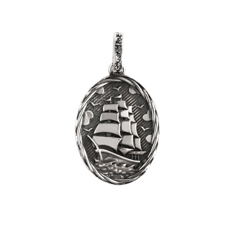 Oldschool Ship Pendant