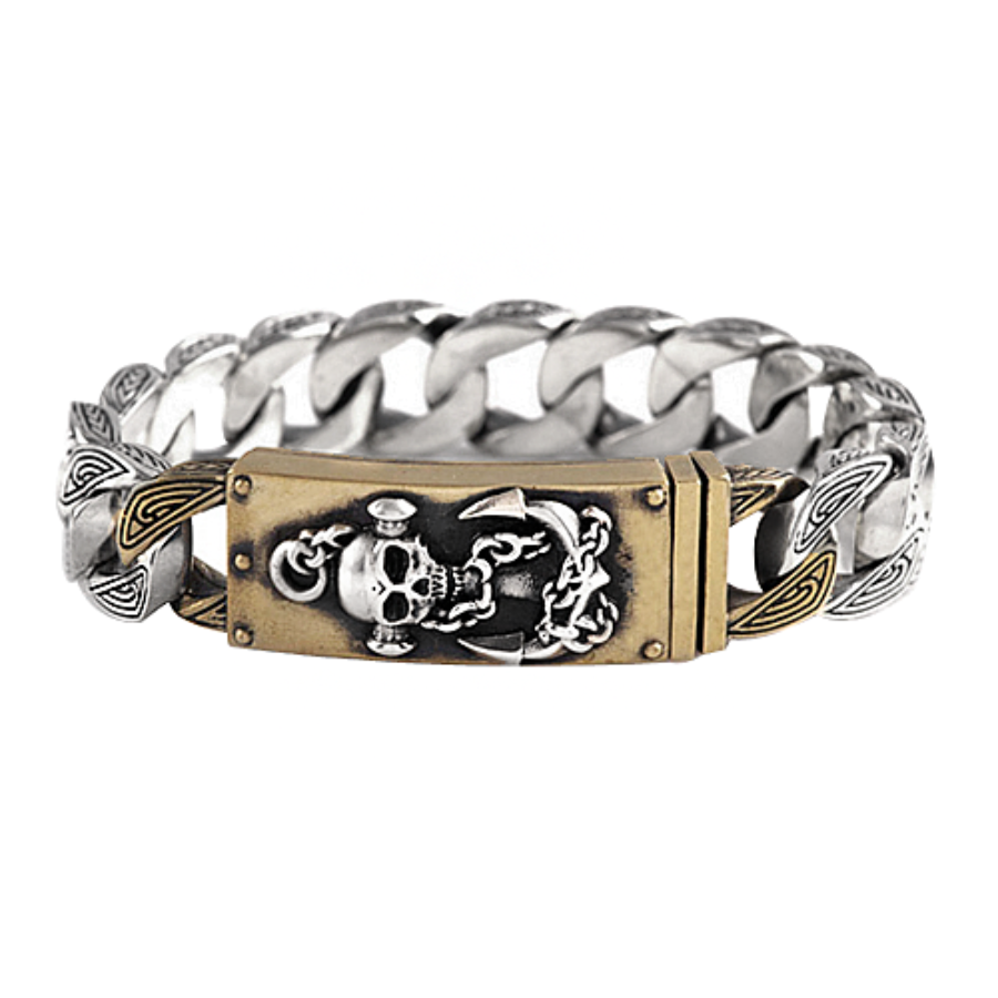 Anchor Bracelet - Brass
