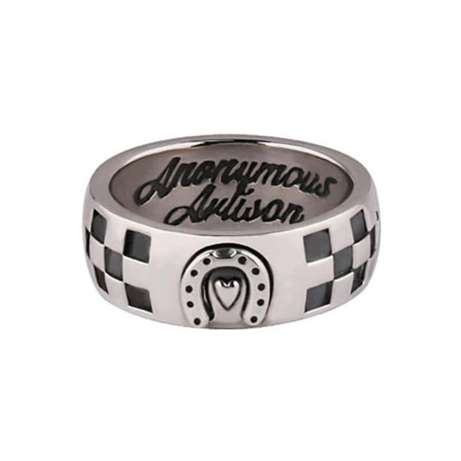 Oldschool CheckerBoard ring